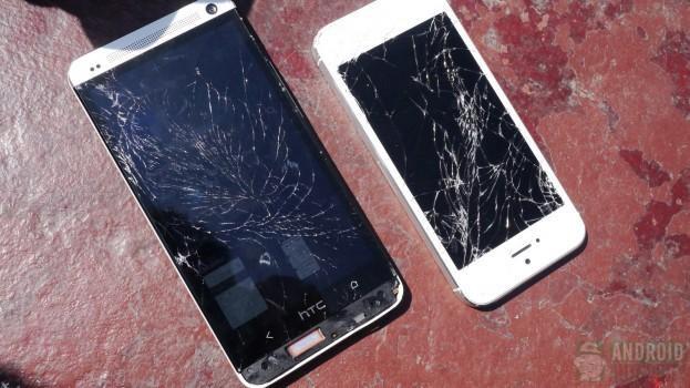 htc-one-vs-iphone-5-drop-test
