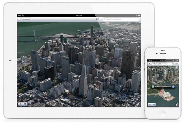 אפל מבצעת שתי רכישות לחיזוק תחום המפות